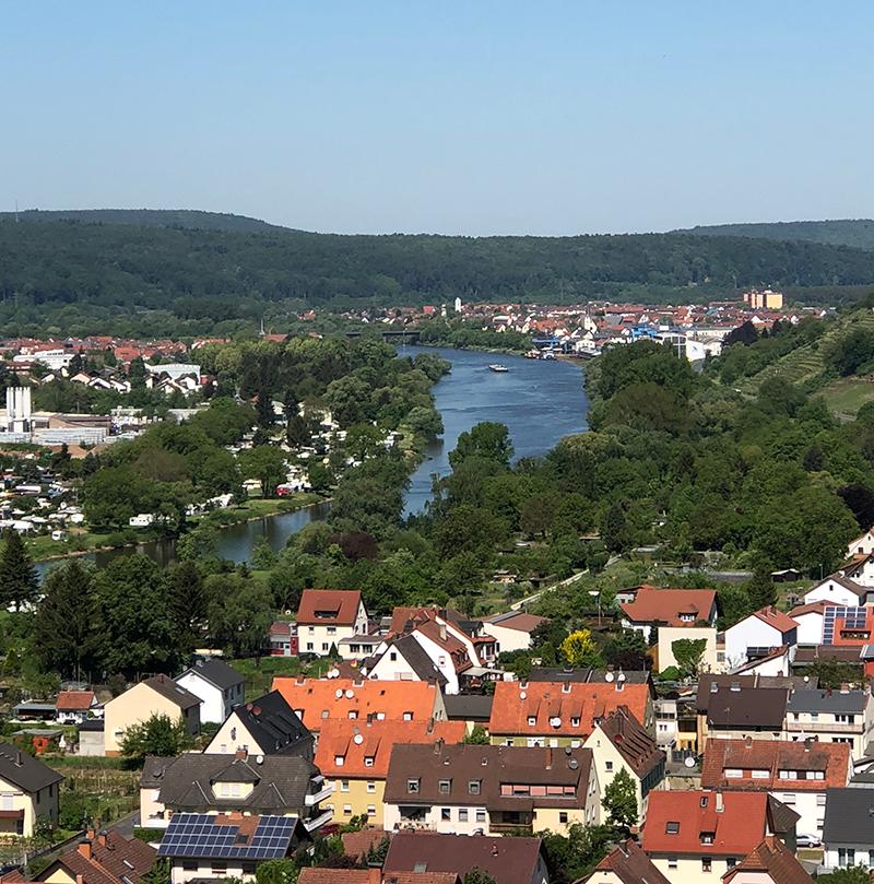 Ein Blick über Klingenberg