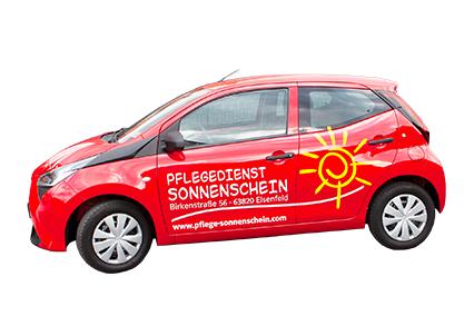 Unser Auto fährt auch in Ihren Ort im Landkreis Miltenberg